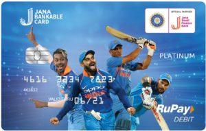 Jana Bankable Debit Card