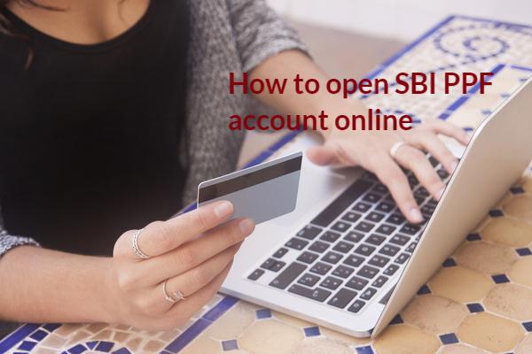 SBI PPF account online