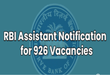 rbi assistant application 2020