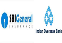 SBI General Insurance inks bancassurance deal with Indian Overseas Bank