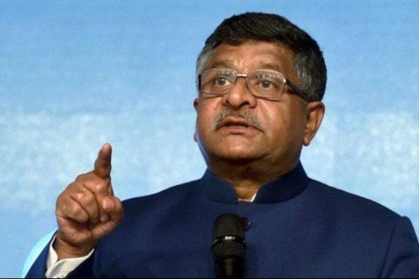 JUST IN: Ravi Shankar Prasad resigns from Cabinet