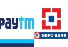 Paytm, HDFC Bank partner