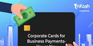 EnKash, Corporate Cards