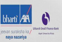 Bharti AXA Life, Utkarsh SFB