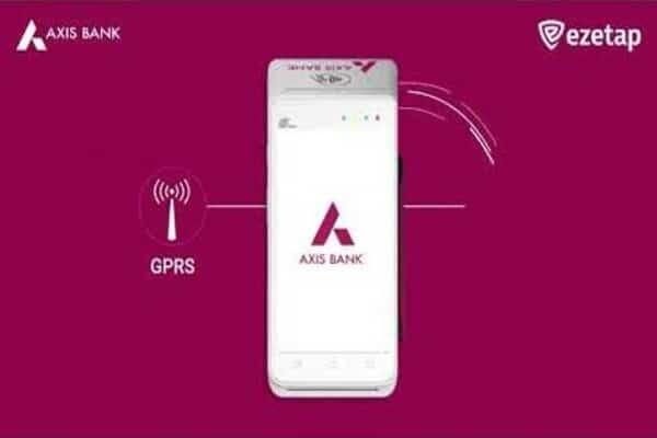 Ezetap partners, Axis Bank